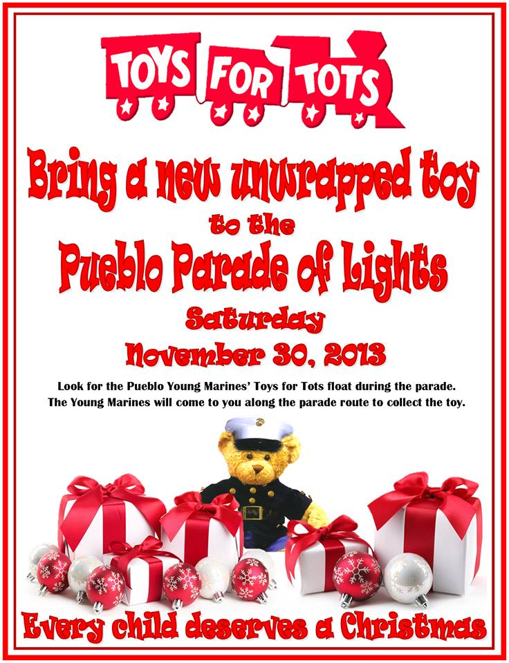 Toys For Tots Posters 2013 : Toys for tots pueblo colorado all things
