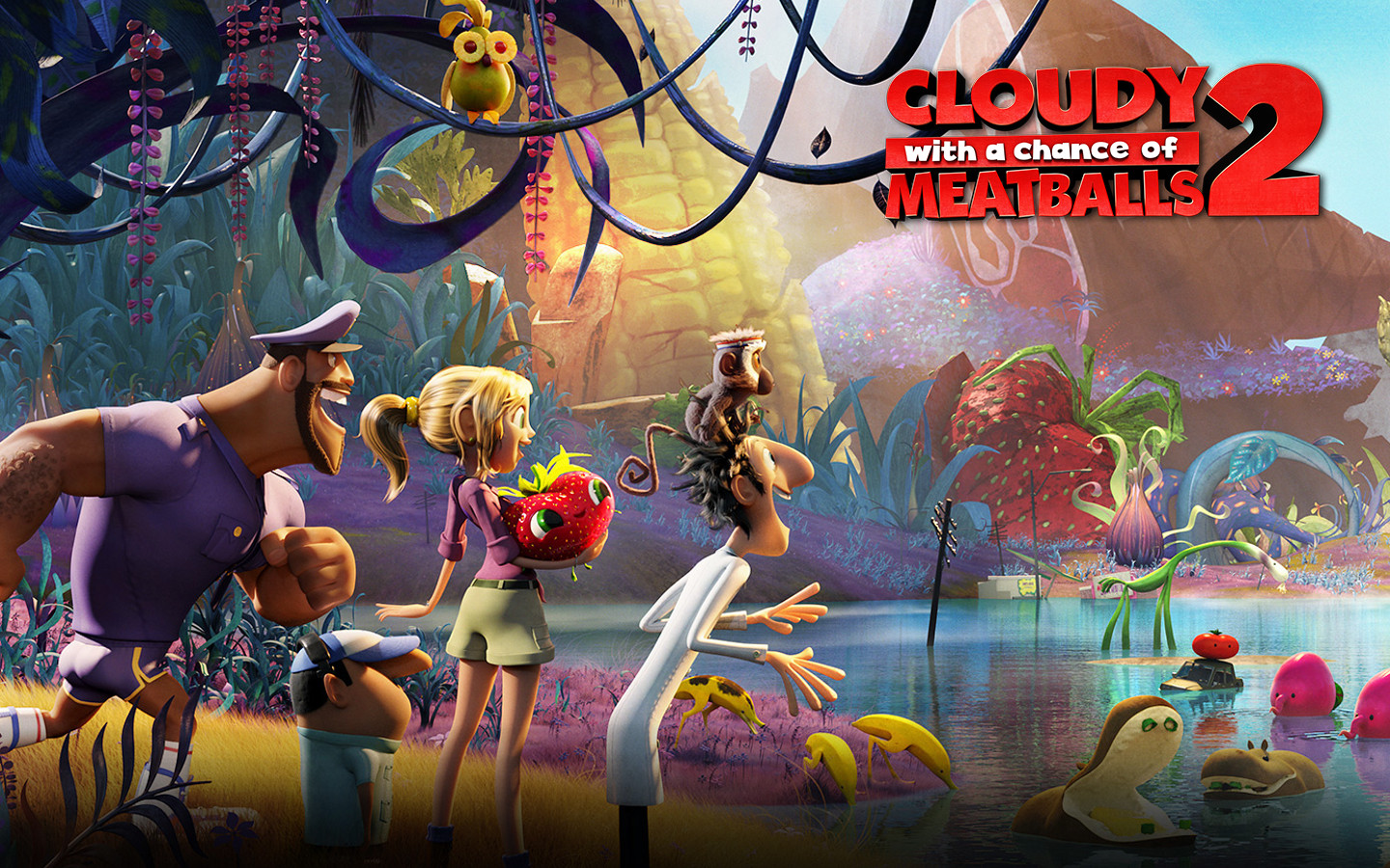 Cloudy with a chance of meatballs wallpaper image group (41+).