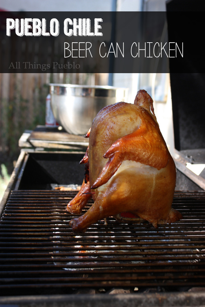 Pueblo Chile Beer Can Chicken